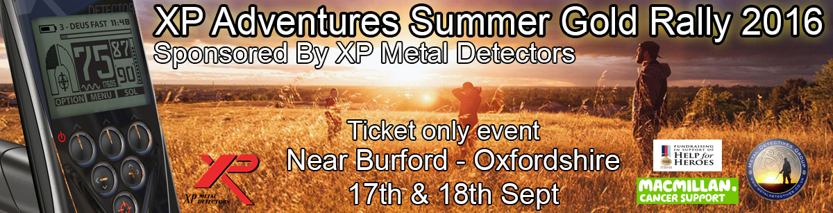 XP metal detector rally the biggest ever detecting event